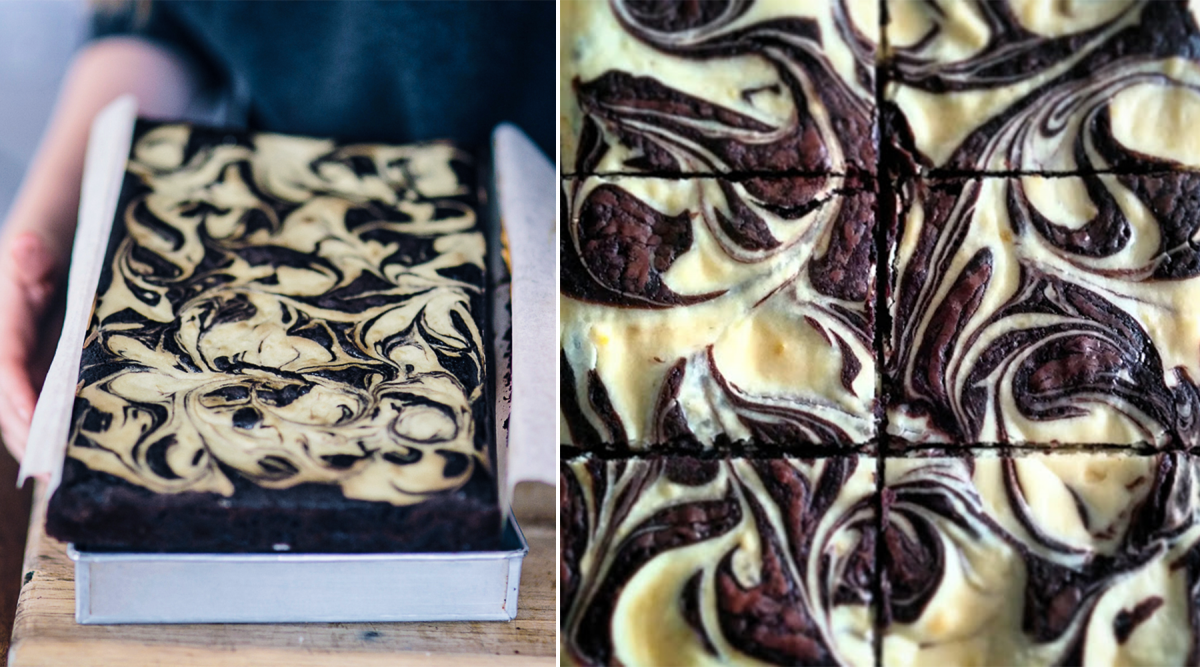 How to Make Beautiful Swirls in your Brownies