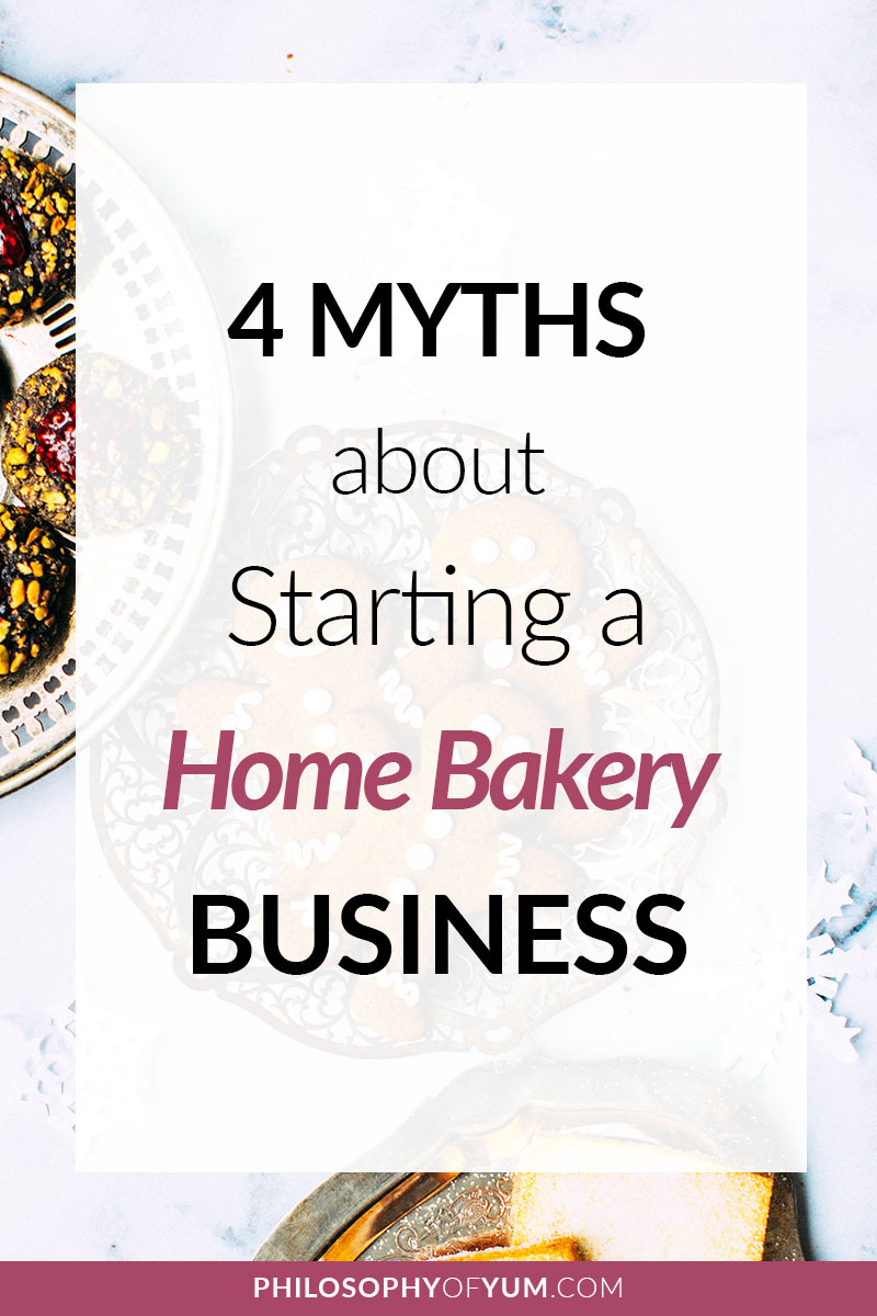 There are Home Bakery Business MYTHS that keep talented bakers from pursuing their Home Bakery dreams! We uncover the 4 BIGGEST myths 1 by 1. This includes specific skill sets, huge capital & false beliefs about baking. Let's uncover these myths, shake them off and go get your Home Bakery dreams! Click through to get the inside info... #homebakery #cakebusiness #bakingbusiness #homebaking #baking