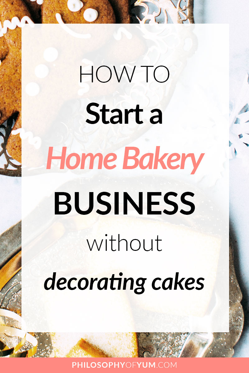 You absolutely DO NOT need to make fondant cakes to have a successful Home Bakery Business! Learn how I've been baking, full-time, for 6 years without EVER touching fondant! Click to learn how you can do it too #homebakery #bakingbusiness #cakebusiness #homebaking #baking