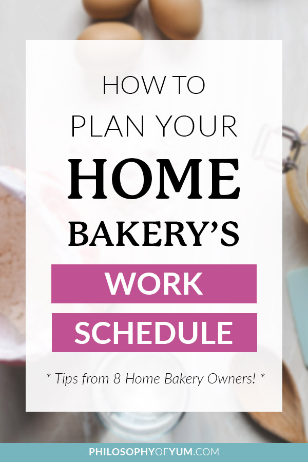 Do you want to be more organized with your time in your Home Bakery Business? Or maybe you want to ditch the regular burn-out for a more consistent, sustainable approach to your home baking? In this post I interview a whole bunch of home bakers - ranging from single to married to Moms with kids - to get their best tips for time management! It IS possible to bake for profit AND have time for family. Here's how to do it... #baking #homebaking #bakingbusiness #homebakery #timemanagement