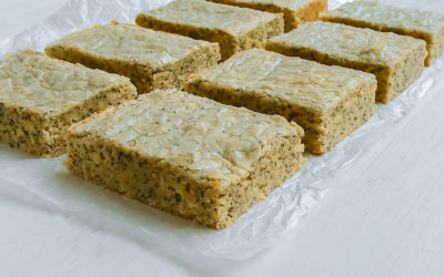 Lemon Poppy Seed Blondies