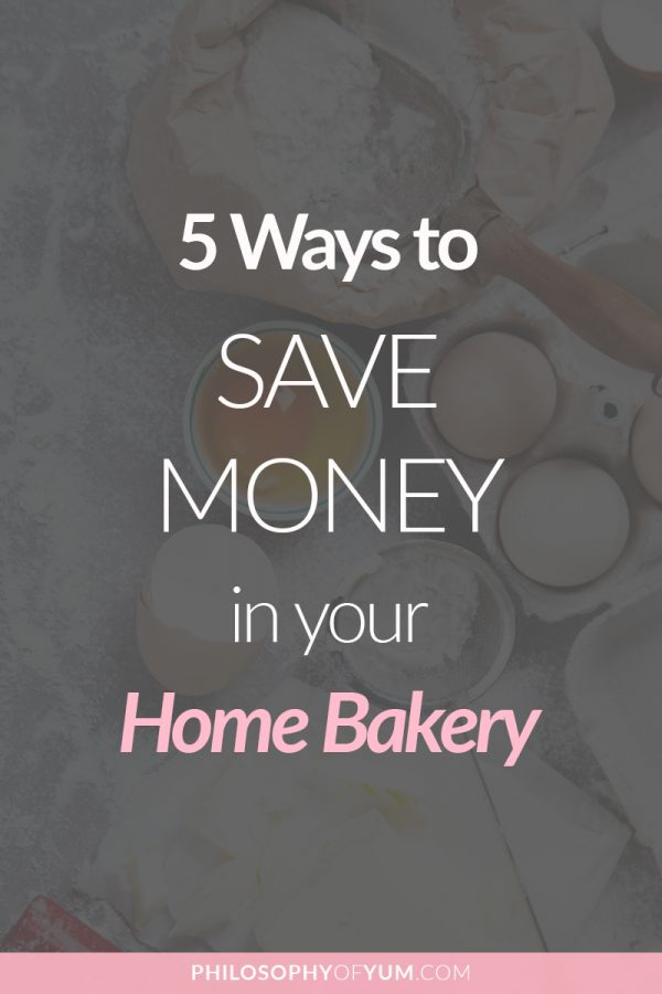 Build your home bakery on a super tight budget with these 5 tips to save money in your home bakery - without compromising on the quality of your bakes. Even though my business and finances are stable now, I still use all 5 of these money saving tips in my home bakery - because saving money is so much funnnn! #homebakery #homebusiness #cakebusiness #bakingbusiness