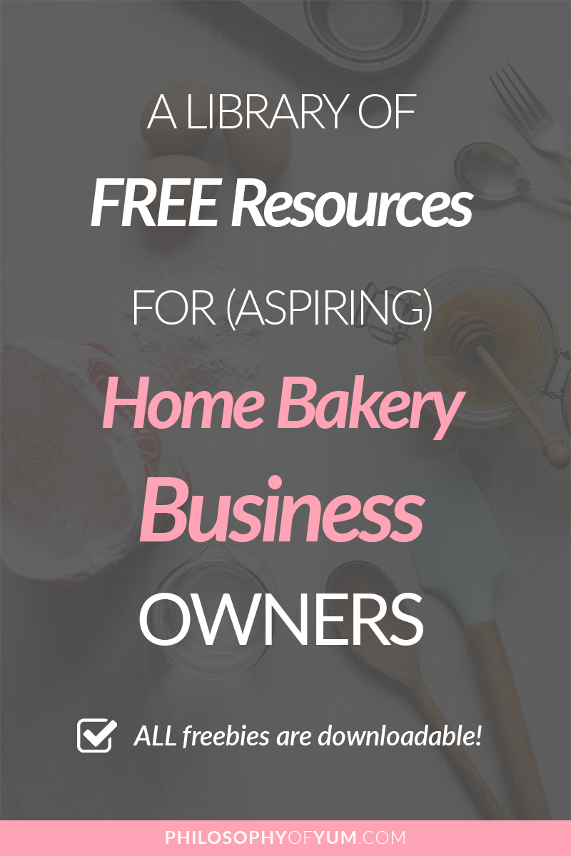 Home Bakeries are the ideal businesses for creative, family-oriented women. Start & grow your Home Bakery Business with this free library full of resources, tips, tools and ideas to grow your Home Baking Business. Click through to access the free library! #homebakery #cakebusiness #bakingbusiness