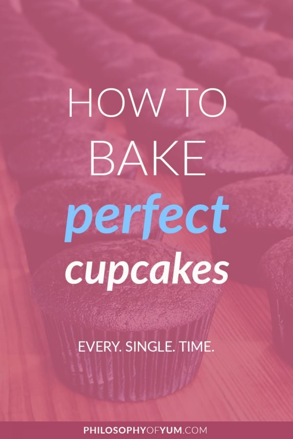 Perfect Cupcakes are a science! It really came down to baking cupcakes 1000 times over to figure everything out. Click through to learn how to bake PERFECT cupcakes every single time. #perfectcupcakes #cupcakes #cupcaketips #bakingtips