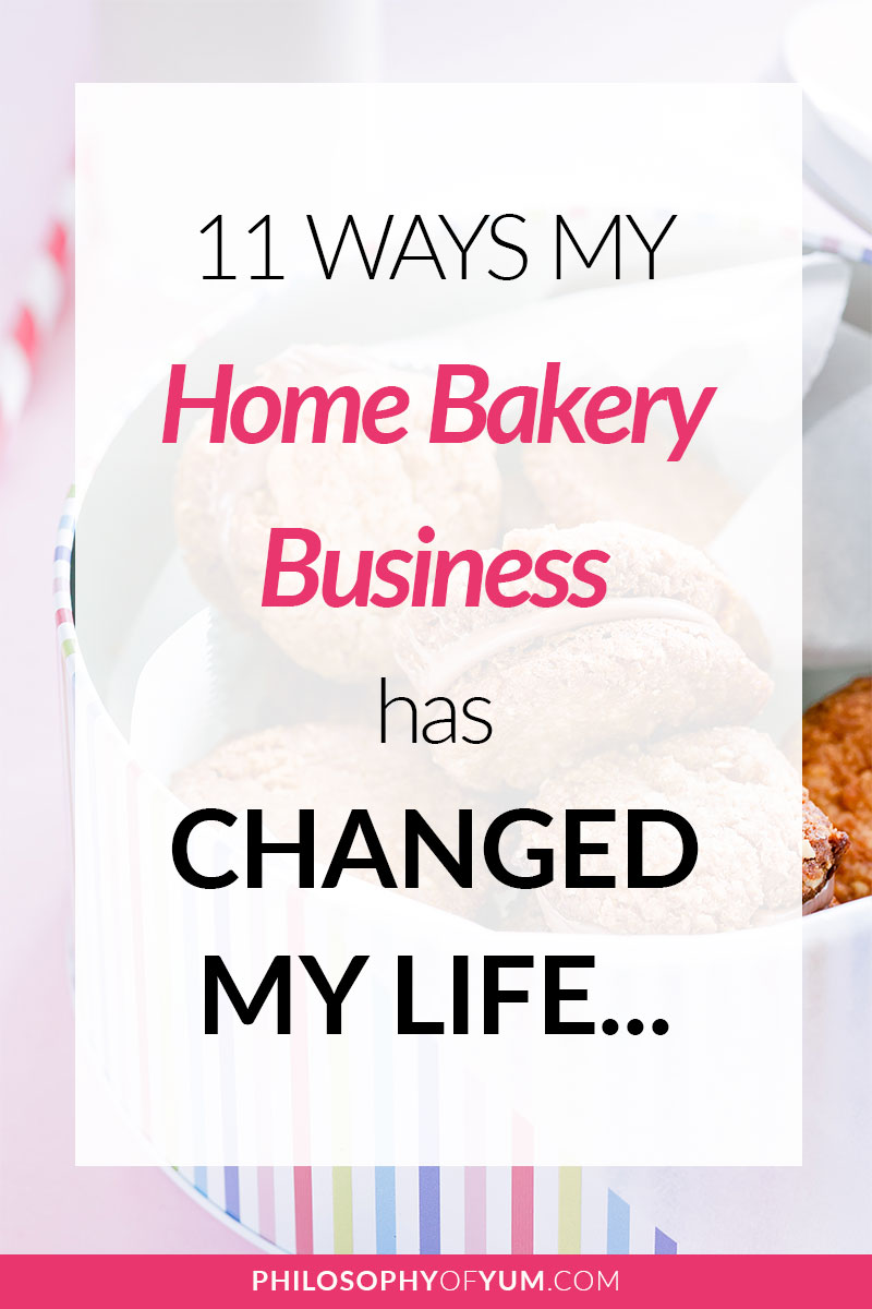 Discover all the incredible effects a Home Bakery has on your life - and some are totally unexpected! It's helped me to leave behind my anxiety meds, heal my confidence and SO MUCH MORE. Click through to discover how starting a Home Bakery Business can change your life. #homebakery #cakebusiness #bakingbusiness