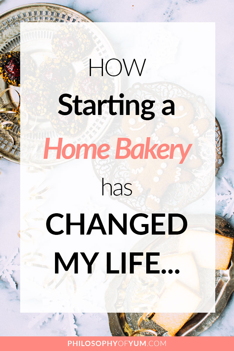 A Home Bakery DOES change your life - in ways I NEVER imagined possible. It's given me the opportunity to work from home, leave behind my anxiety meds, heal my confidence and SO MUCH MORE. Click through to discover how starting a Home Bakery Business can change your life. #homebakery #cakebusiness #bakingbusiness