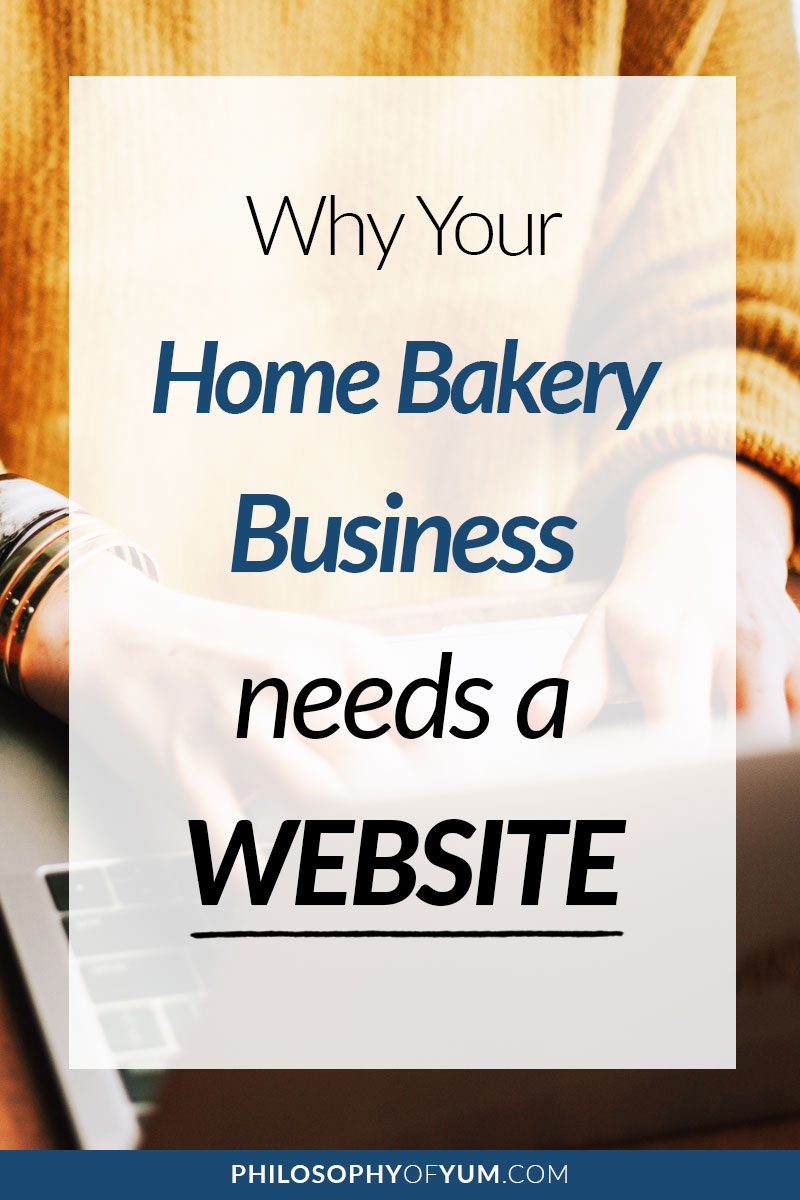 Building a website for your Home Bakery isn't complex or expensive! In this post you'll learn why a website is SO important for your baking business's success and which options are the most practical, cost effective and beneficial! #homebakery #bakingbusiness #cakebusiness