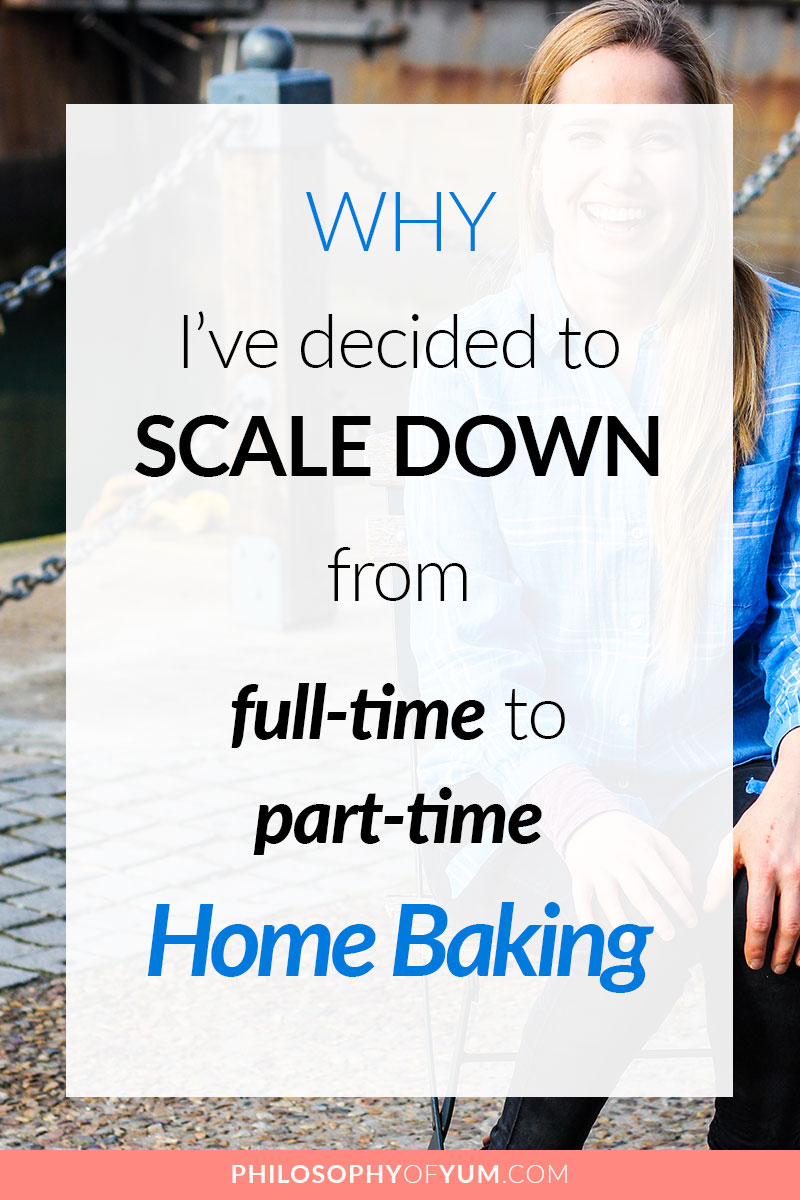 After baking full time from home for 7 years I've started making some drastic changes. I want to keep being honest with you so that you make good decisions in your Home Bakery Business. Here are the reasons why I'm scaling down to part-time Home Baking... #homebakery #homebaking #bakingbusiness #cakebusiness