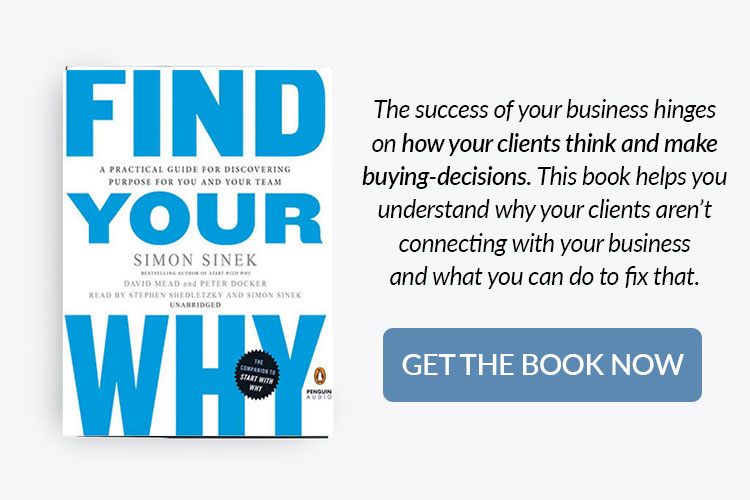 books for home bakery business owners - find your why by Simon Sinek