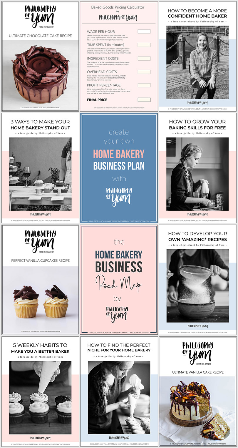 Want to grow your Home Bakery Business? Here's a free library full of resources, tips, tools and ideas to grow your Home Baking Business. Click through to access the free library! #homebakery #homebaking #bakingbusiness #cakebusiness