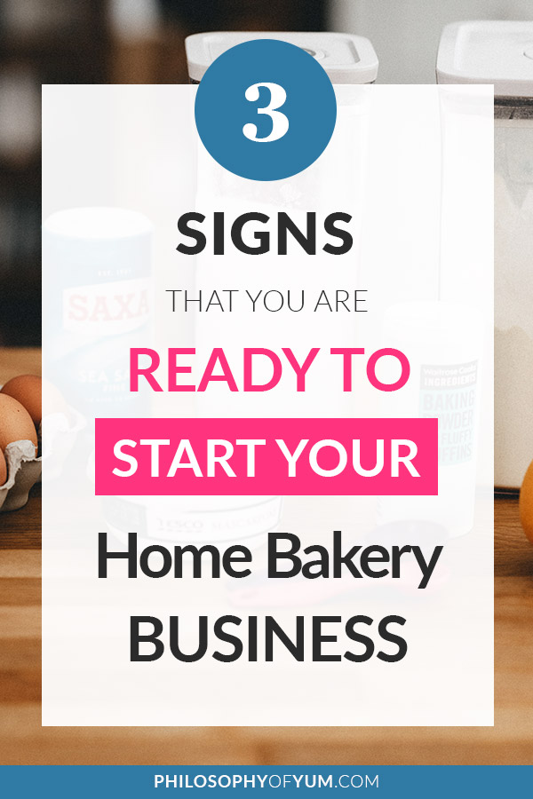 You LOVE baking and the idea of starting a baking business from home has been lingering in the back of your mind... But how can you know if you're really READY to Start a Home Bakery? If you've been doubting whether you're prepared enough, skilled enough, talented enough, experienced enough, etc. This post is for YOU! #baking #homebaking #homebakery #cakebusiness #homebusiness
