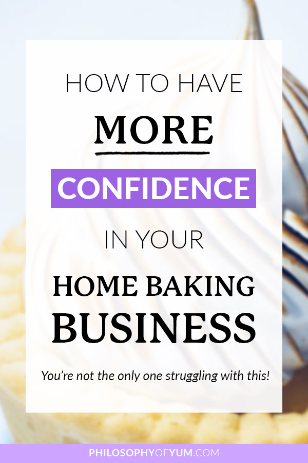 Is self-doubt holding you back from starting your own Home Baking Business? Do you often feel like you're just not skilled enough, prepared enough, good enough to succeed? You're so not alone in this… Pretty much ALL home bakers get these thoughts! In this post you'll learn how to beat self doubt so you can be free to pursue your home bakery dreams. Click through to read the post now… #homebaking #selfdoubt #homebakery #bakingbusiness #baking