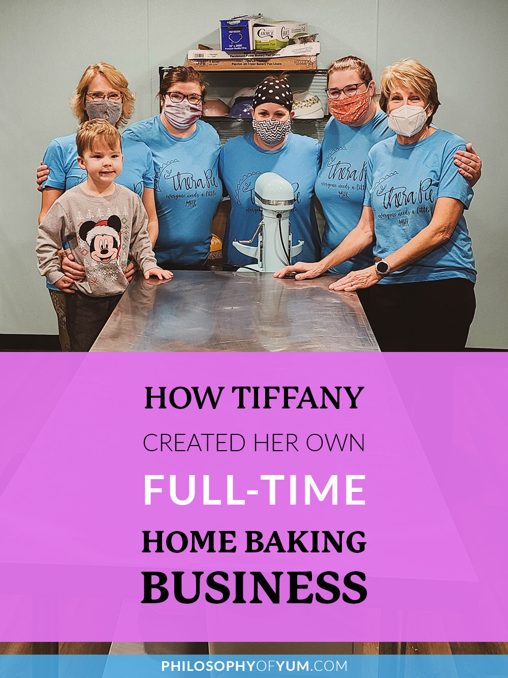 Want to make home baking your career? So did Tiffany! In this post she shares a behind-the-scenes look of HOW she created a full-time Home Bakery Business selling pies! Starting your own Home Bakery and baking for a living (without formal qualifications) is totally possible. Read Tiffany's story now... #homebaking #baking #homebakery #pies #bakingbusiness